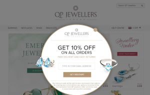 Preview 4 of the QP Jewellers website
