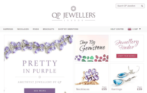 Preview 5 of the QP Jewellers website