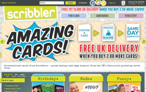 Preview 2 of the Scribbler website