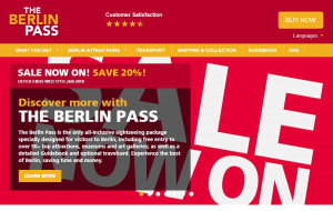 Preview 6 of the Berlin Pass website