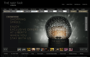 Preview 2 of the The May Fair Hotel London website