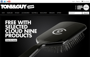 Preview 2 of the Toni & Guy website