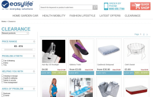 Preview 2 of the Easylife website
