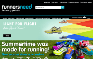 Preview 3 of the Runners Need website