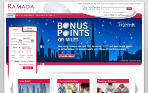 Preview 2 of the Ramada website