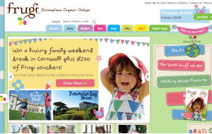 Preview 2 of the Frugi website