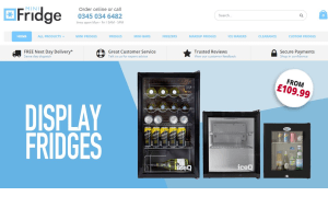 Preview 3 of the Mini Fridge website