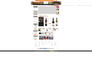 Preview 2 of the Cellar Vie Wines website
