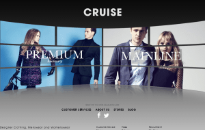 Preview 2 of the CRUISE website