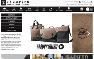 Preview 3 of the Crumpler website