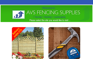 Preview 2 of the AVS Fencing Supplies website