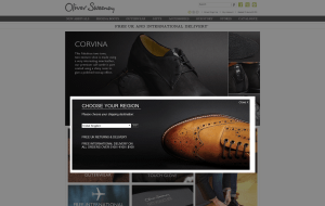 Preview 2 of the Oliver Sweeney website