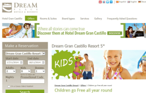 Preview 5 of the Dream Place Hotels & Resorts website