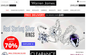 Preview 2 of the Warren James website