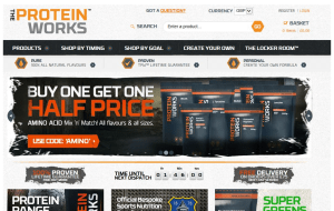 Preview 3 of the Protein Works website