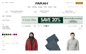 Preview 3 of the Farah website