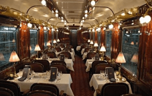 Preview 2 of the Orient Express website