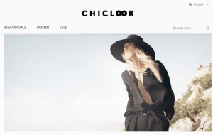 Preview 3 of the Chiclook website