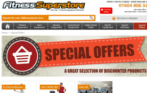 Preview 4 of the Fitness Superstore website