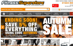 Preview 5 of the Fitness Superstore website