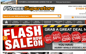 Preview 6 of the Fitness Superstore website