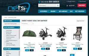 Preview 2 of the North East Tackle Supplies website
