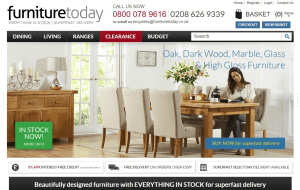 Preview 2 of the Furniture Today website