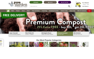 Preview 2 of the You Garden website