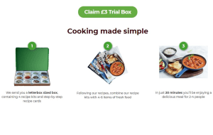 Preview 2 of the Simply Cook website