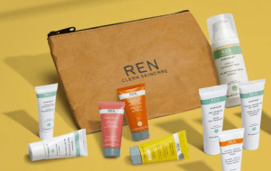 Preview 2 of the REN Skincare website