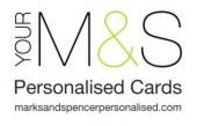 Marks & Spencer Personalised Cards Logo