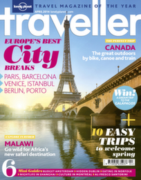 Lonely Planet Traveller Magazine Logo