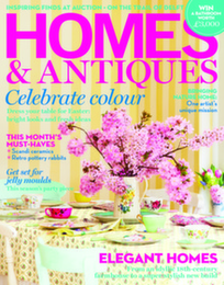 Homes & Antiques Magazine Logo