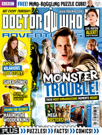 Doctor Who Adventures Magazine Logo